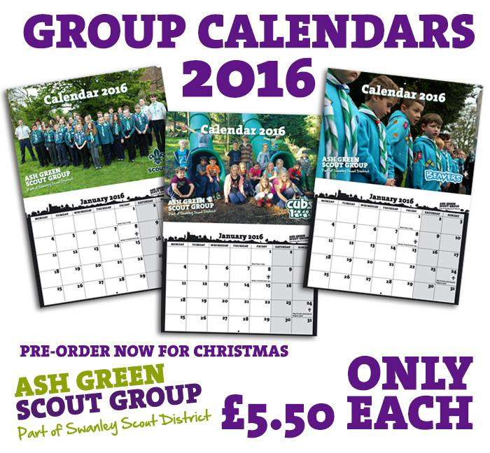 2016 calendars launched