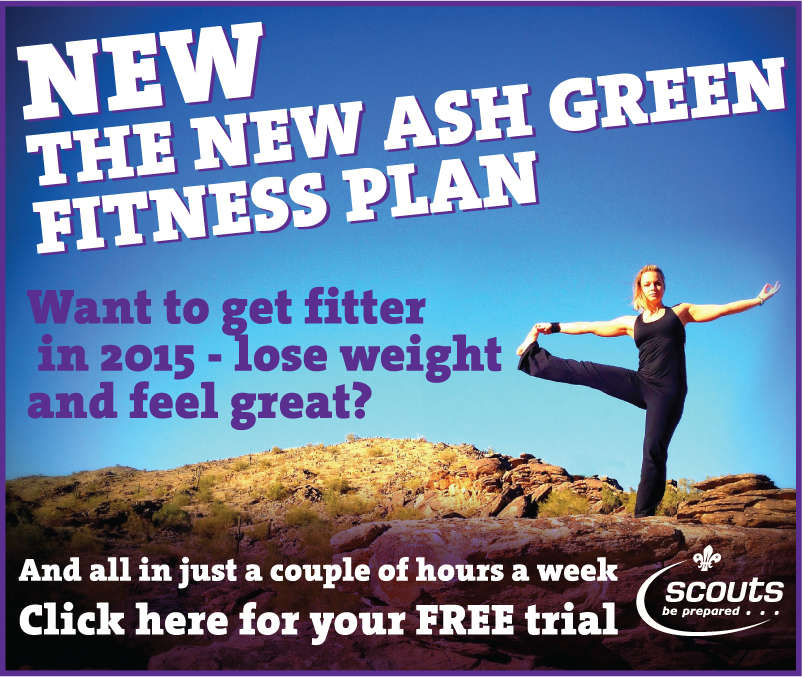 The New Ash Green Fitness plan - become a Scout Leader