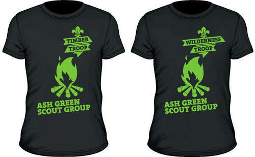 T-shirts launched for Scout Section