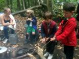 2017 - Oct Foresters-Sleepover at Farningham Woods