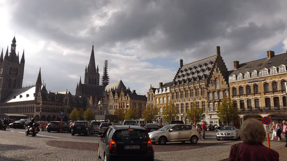 The sites of Ypres